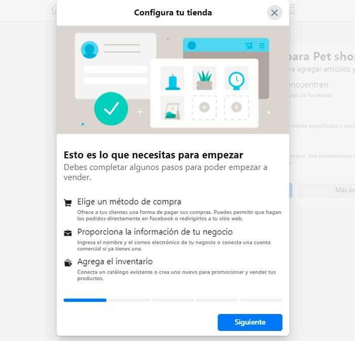 configurar tienda Cómo Crear una Página en Facebook para Vender